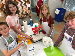 Kids Cooking Camp Photos