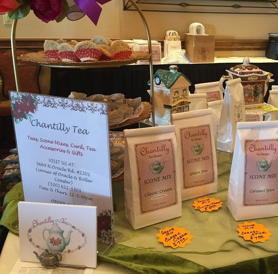 Chantilly Tea at Charity Event for TSOL 2016