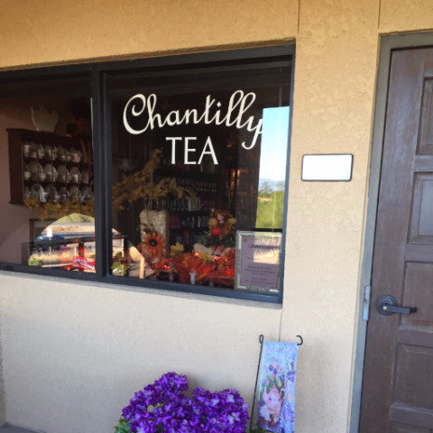 Chantilly Tea Storefront