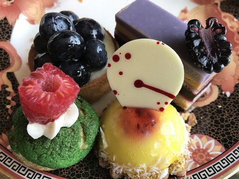 Tea Desserts at Mandarin Oriental
