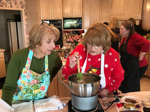 Chantilly Tea Truffle Cooking Class