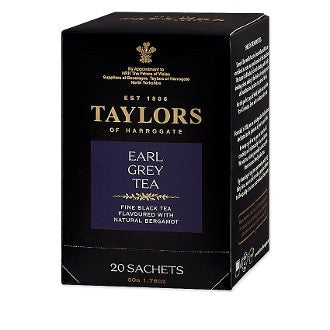 Earl Grey - 50 Bags - Blend of fine black China teas and the natural oil of bergamot, a pear-shaped citrus fruit grown in Italy and Sicily.