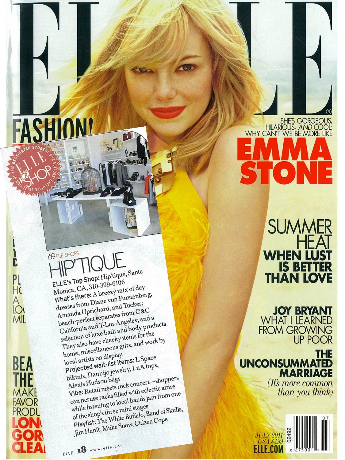 Hiptique Elle Cover Feature