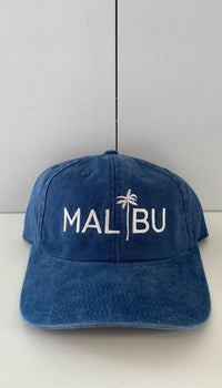MALIBU BLUE PALM HAT
