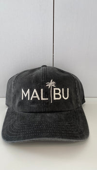 MALIBU BLACK PALM HAT