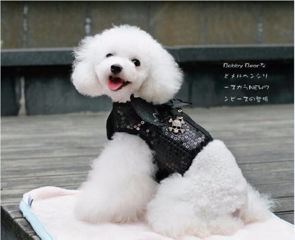 Cute Angel and Bat Shaped Dog Harness