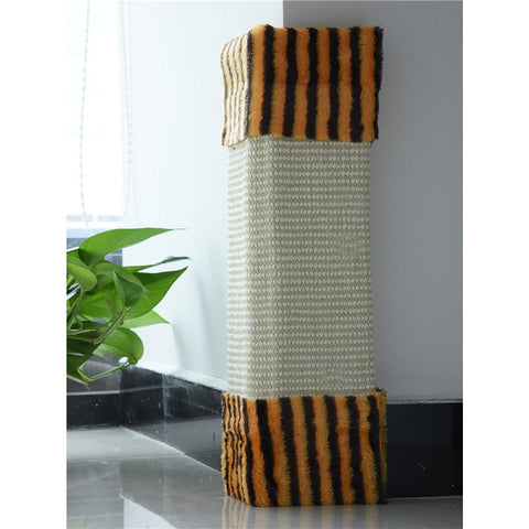 Hot Sale Cat Pet Kitten Wall Corner Scratching Scratch Board Mat Post Tree Scratcher Sisal Hemp Kitty Pet Plush Flying Toys