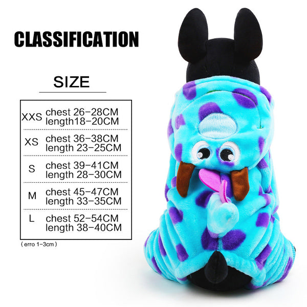 Super Adorable Sulley Costume