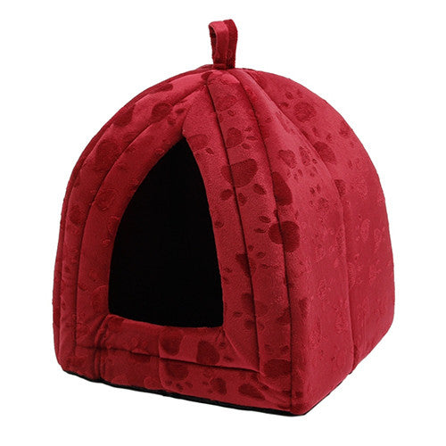 New Arrive Pet Kennel Super Soft FabricDog Bed Princess House  Specify for Puppy Dog Cat with Paw Cama Para Cachorro Hot!!! - Pestora