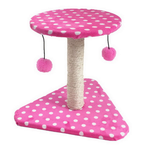 2016 New Cat Toy Cat Scratching with Swinging the Ball Cat Furniture&Scratchers Cat Tree Scratch Toy For Pet Kitten Jumping