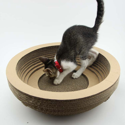 2016 Funny Pet Toy Cat Scratch Board Protect Cat Paw Furniture 5 Design Corrugated Paper Cat Scratcher