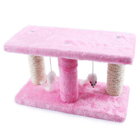 Creative Pet Cat Toy Crazy Cat and mouse Scratcher cat tree arbre a chat rascador para gatos For Cats Kitten 072207