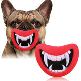Vampire Mouth Squeaky Toy