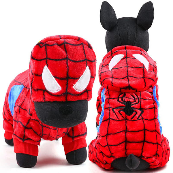 Spiderman Dog Hoodie - Free Worldwide Shipping - Petstora