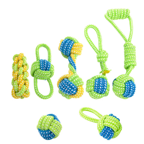 HOOPET Dog Toy Dog Chews Cotton Rope Knot  Ball Grinding Teeth odontoprisis Pet Toys Large small Dogs 7 Style options