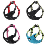 Padded Reflective Dog Harness Vest  Pet Safety Nylon Dog Training Vest Adjustable For Small Medium Dog S M L - Pestora