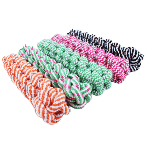 21cm Rope Dog Tug Toys Pets Puppy Chew Braided Tug Toy For Pets Dogs Training Bait Toys