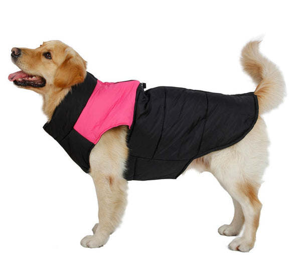 Free Shipping Dog Clothes Dog Winter Clothing Large Dog Vest Warm Apparel Pet Clothes High Quality Clothing For Dog Pet Supplies - Pestora
