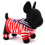 Image of 2016 New pet Dog Clothes Hot Sale Stripe dog hoodies for chihuahua Pet Dog Clothing winter Coats For Dogs XXS-L Free Shipping
