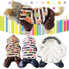 Dog Clothes Winter Warm Clothes Fog Dogs Coat Snowman Jacket Pet Dog Costume Puppy Jumpsuit Hoody Clothing  FEN# - Pestora