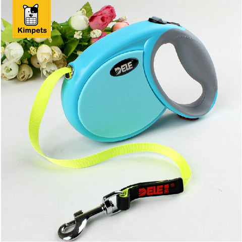 2015 Best Sale Pet Dog Leash Retractable dog Collar leash Products Dog Harness Dele Pet Dog Chain Collars 3M 4M 5M 7M