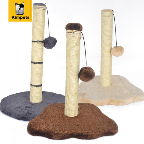 Cat Scratcher Post With Swing Ball