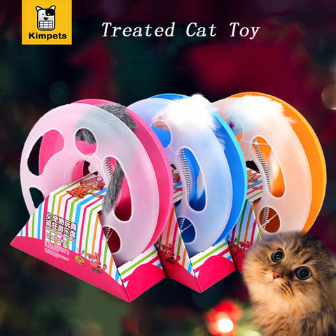 Pet products Mice Training Amusement Disk Multifunctional Disk Play Activity Funny hamsters Pet Cat Toy interactive training toy