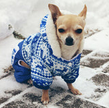 Stylish Hoodie Jacket for Small Dogs