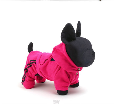 Hot Sale 100%Cotton Pet Dog Apparel Winter And Autumn USA Sport Dog Costumes For Chihuahua Yorkshire 5 Sizes - Pestora