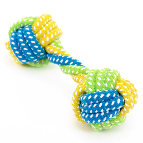 HOOPET Dog Toy Dog Chews Cotton Rope Knot  Ball Grinding Teeth odontoprisis Pet Toys Large small Dogs 7 Style options - Pestora