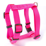 Nylon Adjustable Small Pet Puppy Dog Harness 4 Sizes XS S  M L 5 Colors Black Blue Red Green Rose - Pestora