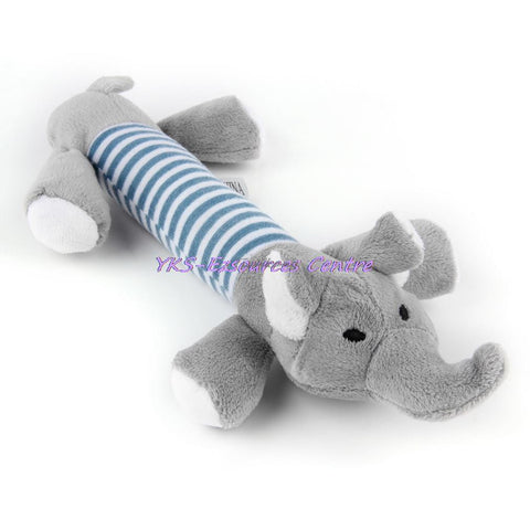 New Dog Toys Pet Puppy Chew Squeaker Squeaky Plush Sound Duck Pig & Elephant Toys 3 Designs new arrival Worldwide Store - Pestora