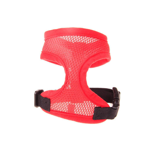 13 colors Adjustable Soft Breathable Dog Harness Nylon Mesh Vest Harness for Dogs Pets Collar Pets Chest Strap Leash - Pestora
