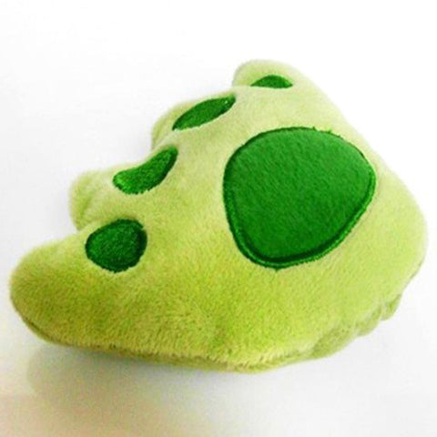 Lovely Pet Puppy Dog Bear Paw Shape Squeaky Sound Plush Play Chew Toys  Wholesale HH4 - Pestora