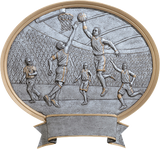 Basketball Male Sport Legend Oval Series P