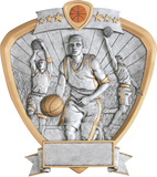 Basketball Male Shield Series P