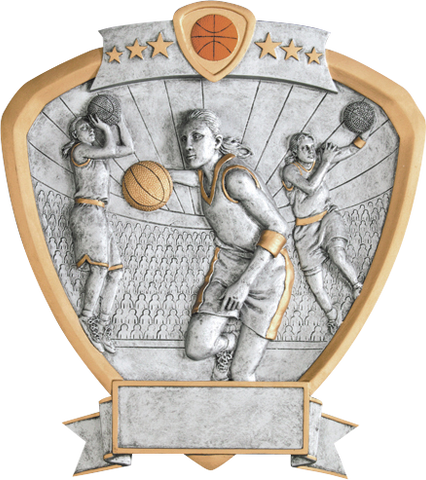 Basketball Female Shield Series P