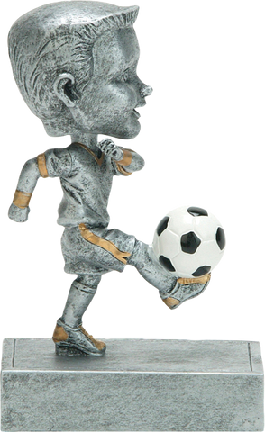 Soccer Male Rock N Bop Bobblehead Series P