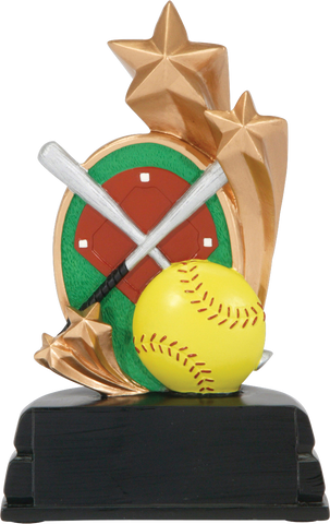 Softball Star Resin Series P