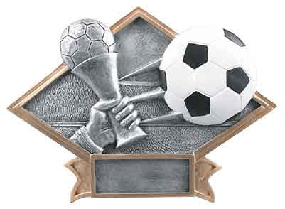 Soccer Diamond Plate Series J