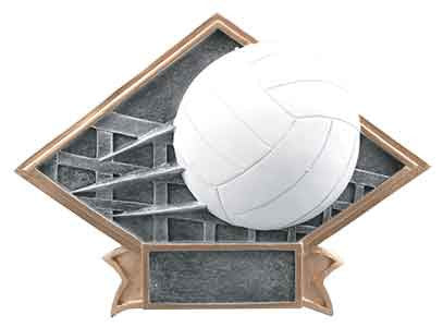 Volleyball Diamond Plate Series J