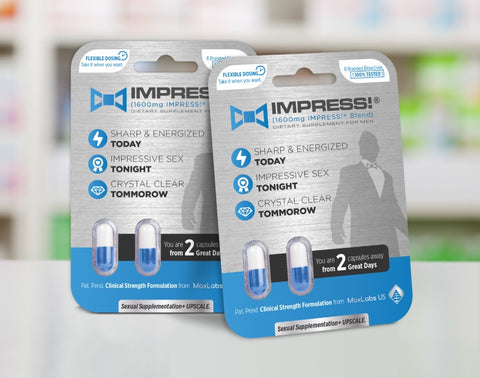 IMPRESS! the strongest sexual enhancement pill compared to 9 national brands