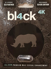 bl4ck 4K Pill Reviews Package by Rhino