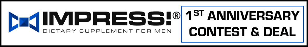 BANNER SHOWS THE BEST SUPPLEMENT FOR MEN CELEBRATES WITH CONTEST AND DEAL