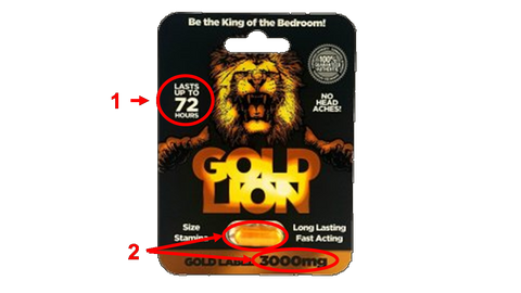 Review of gold lion sex pill
