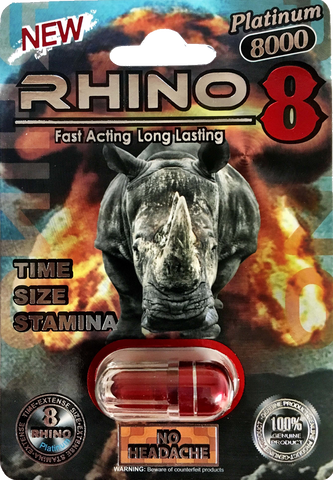 Rhino 8 8000 reviews and other Rhino pill brands