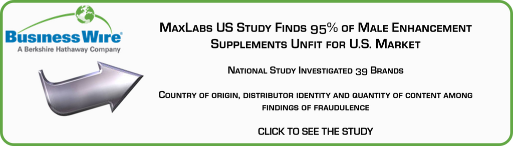 MaxLabs US Study of Male Enhancement Supplements