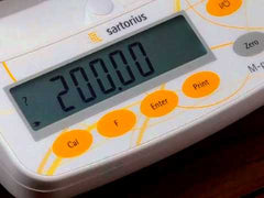 Sartorious scales used to weigh fraudulent supplements