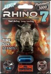 Rhino 7 sex pills another example of FDA recalled supplements