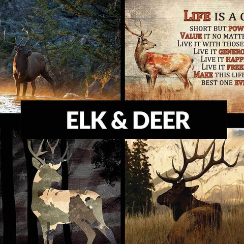 Elk and Deer